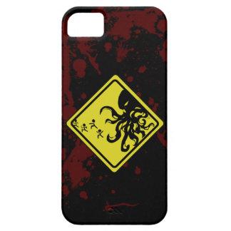 注意のCthulhu Iphoneの場合 iPhone 5 Case-Mate ケース