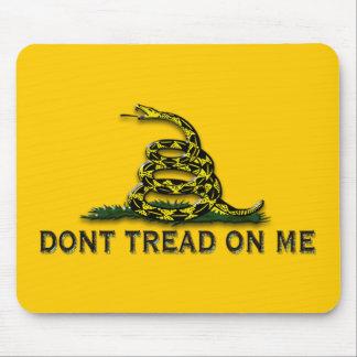 """注意は""""私で""""旗を踏みません マウスパッド"""