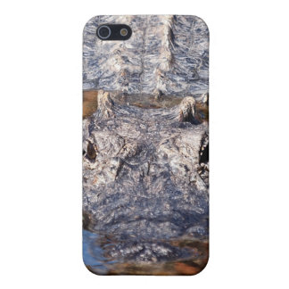 注意深いわに-! iPhone 5 カバー
