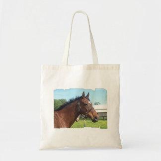 注意深いアラビアの馬の小さいバッグ トートバッグ