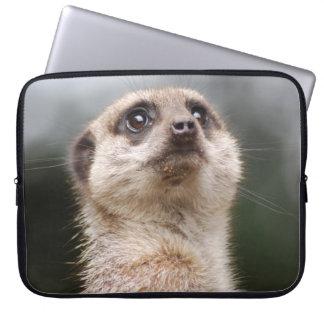 注意深いMeerkatの電子工学のバッグ ラップトップスリーブ
