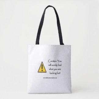 注意確かにバッグを見つけます トートバッグ