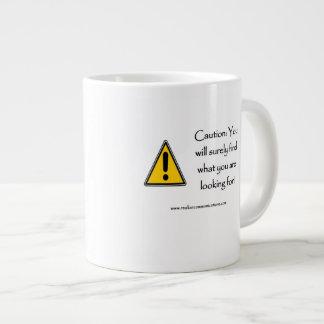 注意確かにマグを見つけます ジャンボコーヒーマグカップ