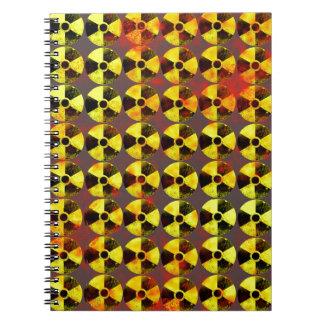 注意、核エネルギー ノートブック