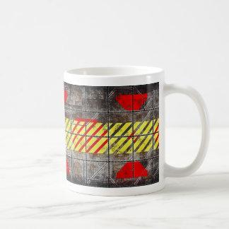 注意、熱い飲み物の容器 コーヒーマグカップ