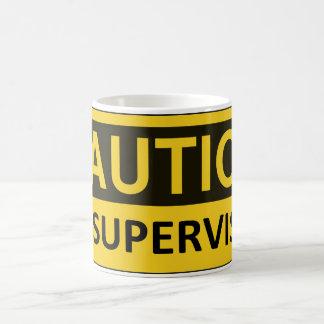 注意: 監視されていないマグ コーヒーマグカップ