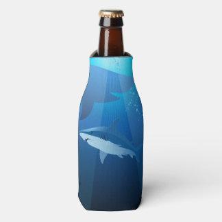 泳いでいる鮫 ボトルクーラー