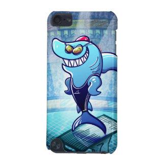 泳ぐ人の鮫 iPod TOUCH 5G ケース