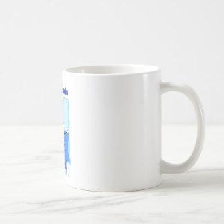 泳ぐ人 コーヒーマグカップ