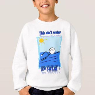 泳ぐ人 スウェットシャツ