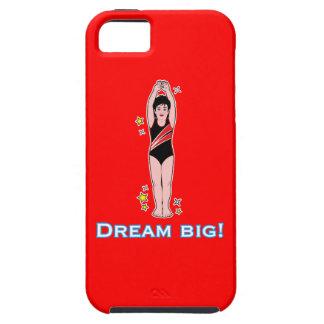 泳ぐ人: 夢の大きい iPhone SE/5/5s ケース