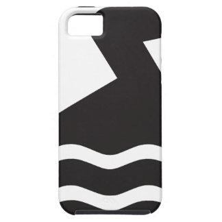 泳ぐ人 iPhone SE/5/5s ケース
