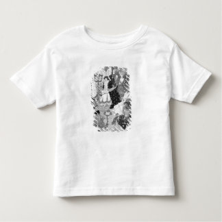洒落男の戦いからのイラストレーション、おそらく トドラーTシャツ