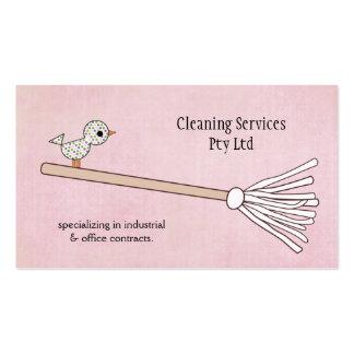 洗剤|クリーニング|サービス|ビジネス|プロフィール|カード スタンダード名刺