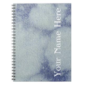 洗浄されたデニムのデザイン#1 @ Emporio Moffa ノートブック