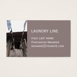 洗濯のきのこの名刺 名刺