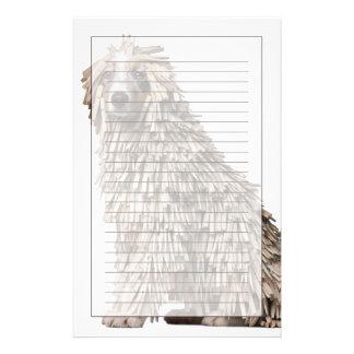 洗濯ばさみ(5の十分のオーストラリアの羊飼いの子犬 便箋
