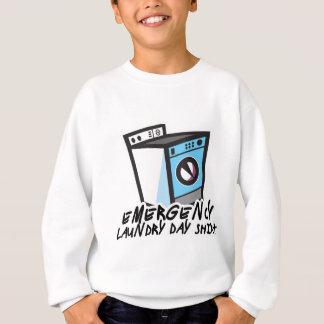 洗濯日のワイシャツ スウェットシャツ