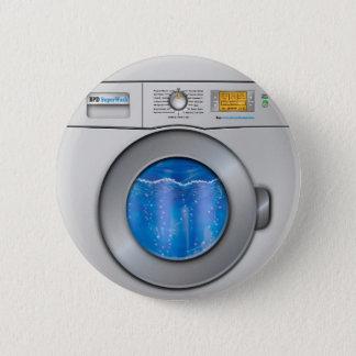 洗濯機 5.7CM 丸型バッジ
