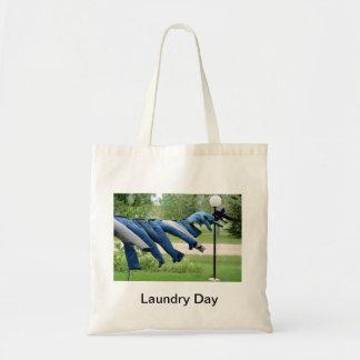 洗濯 トートバッグ