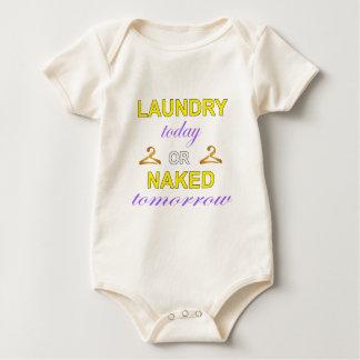 洗濯 ベビーボディスーツ