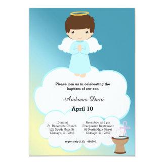 洗礼の天使の男の子 カード