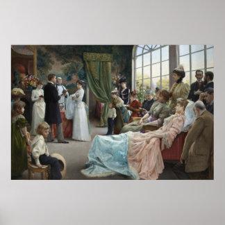 洗礼1892年 ポスター
