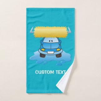 洗車の漫画 バスタオルセット