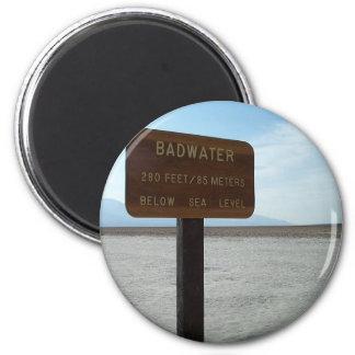 洗面器、デスヴァレー国立公園 マグネット