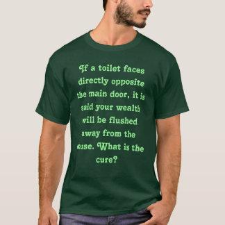 洗面所が表玄関正反対で直面すれば Tシャツ