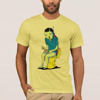 洗面所の賭博 Tシャツ