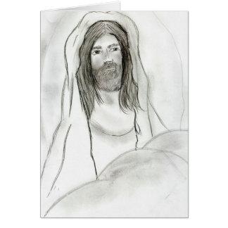 洞窟のイエス・キリスト カード