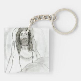 洞窟のイエス・キリスト キーホルダー