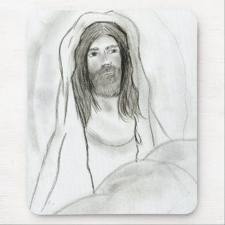 洞窟のイエス・キリスト マウスパッド