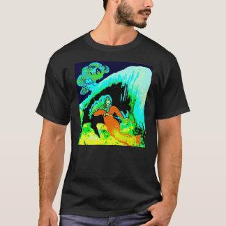 洞窟の宇宙に Tシャツ