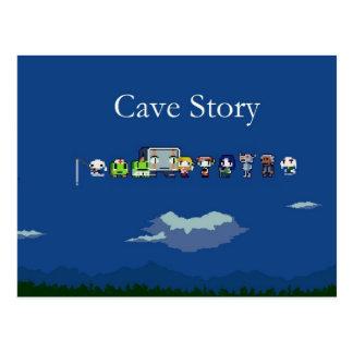 洞窟の物語の郵便はがき ポストカード