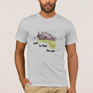 洞窟を並べて下さい Tシャツ