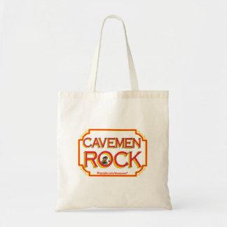 洞窟人の石のBR トートバッグ