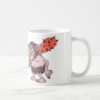 洞窟人 コーヒーマグカップ
