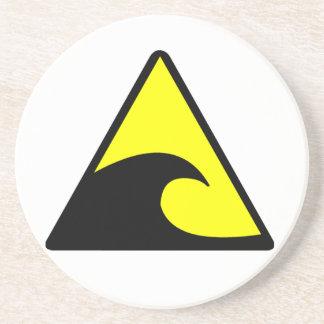 津波の警告 コースター