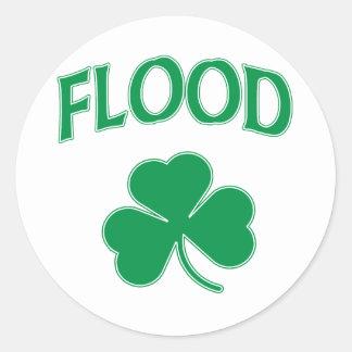 洪水のアイルランド語 ラウンドシール