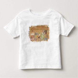 洪水、アトリウムから、ノアの詳細 トドラーTシャツ