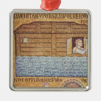洪水、アトリウムから、ノアの詳細 メタルオーナメント