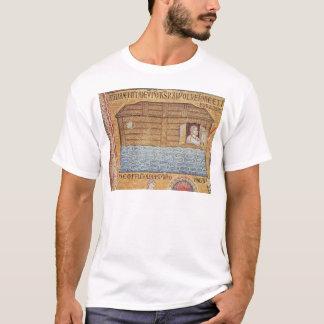 洪水、アトリウムから、ノアの詳細 Tシャツ