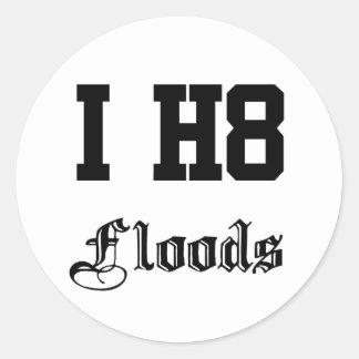 洪水 ラウンドシール