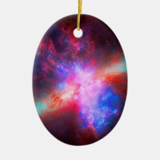 活動的なシガーの銀河系-よりきたない82 セラミックオーナメント