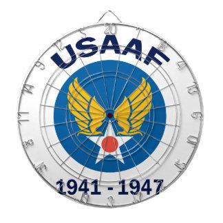 活動的なUSAAF年 ダーツボード