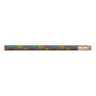 活気づいた虹 鉛筆