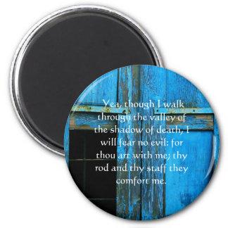 活気づけるな聖書の聖なる書物、経典の賛美歌の23:4 マグネット