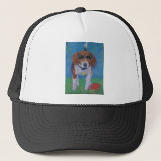 活発な犬のカッコいい犬 キャップ